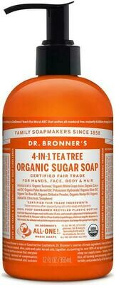 Dr. Bronners 4-1 Tea Tree Sugar Soap Liquid