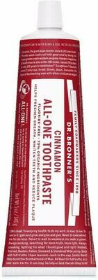 Dr. Bronner's All-One Toothpaste Cinnamon