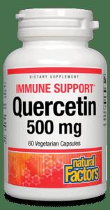 Natural Factors Quercetin 500mg 60 Vcap