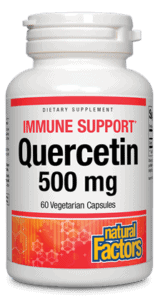 Natural Factors Quercetin 500mg 60 Vcap