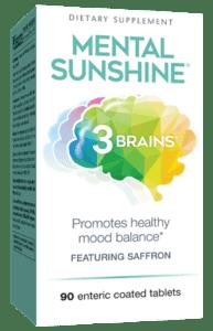 Natural Factors Mental Sunshine Tablets 90