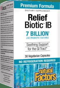 Natural Factors Relief Biotic IB 30Vcap