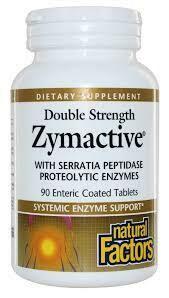 Natural Factors Zymactive Double Strength Tab 90