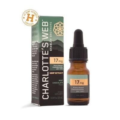 Charlottes Web 17 Mg Mint Choco .34 Fl Oz