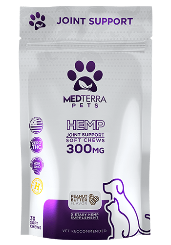 MedTerra Pets Joint Support Chews 300mg