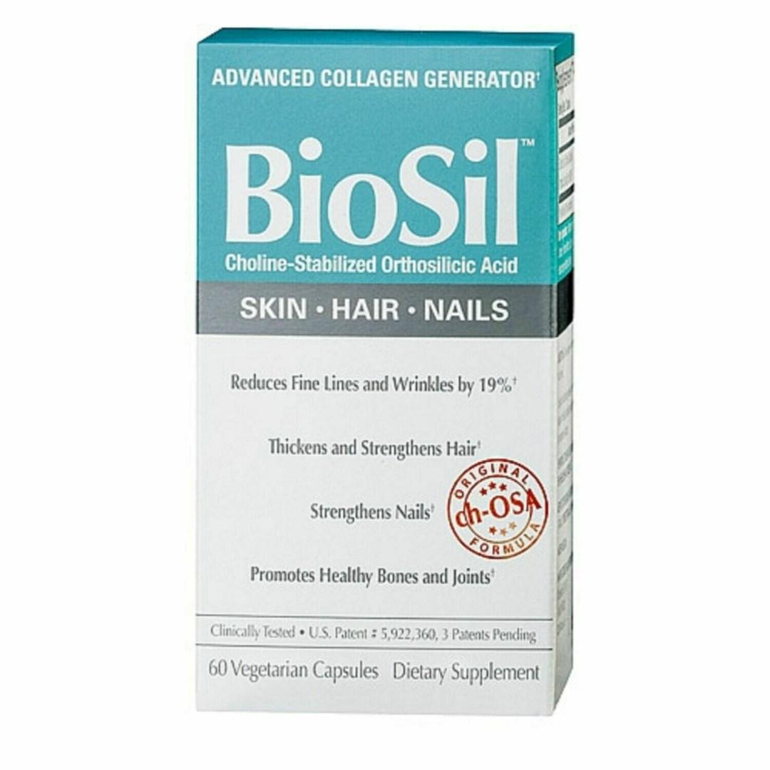 Natural Factors biosil 60**