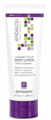 Andalou Body Butter Lavender Shea 8oz