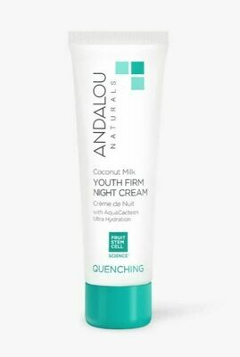 Andalou Quenching Coconut Youth Night Cream
