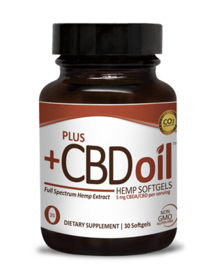 CBD Plus Raw 5mg 30sgel