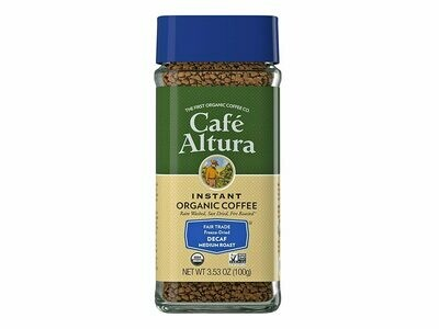 Cafe Altura Decaf Instant