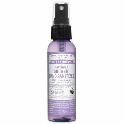 Dr. Bronners Hand Sanitizer Lavender 2oz