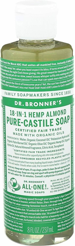 Dr. Bronners Almond Oil Liquid Soap 8fl Oz