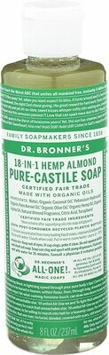 Dr. Bronners Almond Oil Liquid Soap 8fl Oz
