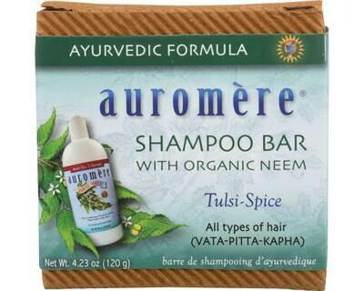 Auromere Shampoo Bar 4.23oz