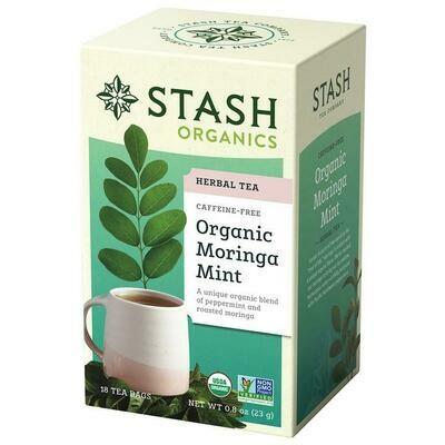 Stash Organic Moringa Mint Tea 18ct