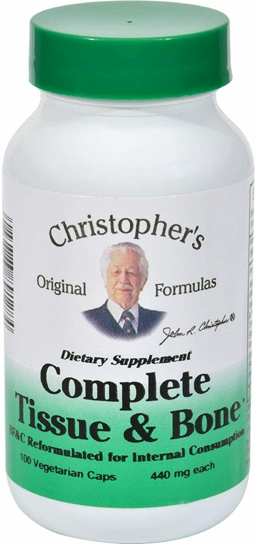 Dr. Christopher's Complete Tissue 100cap