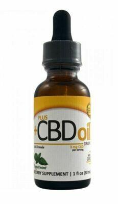 CBD Plus Gold 3mg Peppermint 1oz