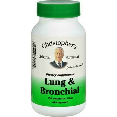 Dr. Christopher's Lung Bronchial 100cap