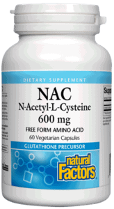 Natural Factors NAC 600mg 60cap