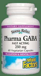Natural Factors Pharma GABA 250mg 60cap