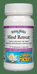 Natural Factors Mind Retreat 60cap