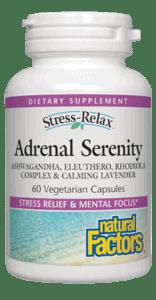 Natural Factors Adrenal Serenity 60 Veg Cap
