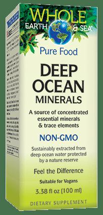 Natural Factors Deep Ocean Minerals 100ml