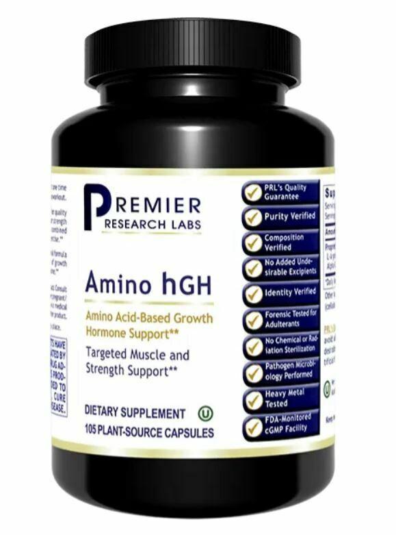 Premier Research Amino hGH 105 caps
