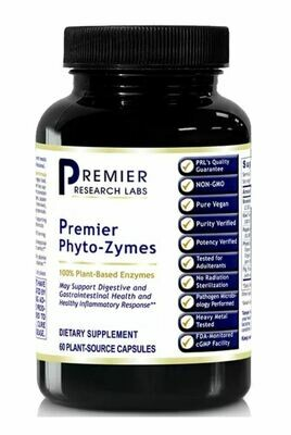 Premier Research Phyto-Zymes 60cap