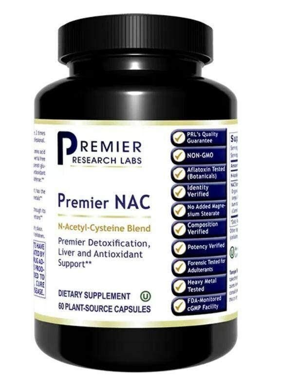 Premier Research Nac 60vcap