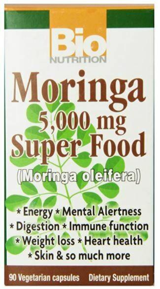 Bio Nutrition Moringa 5000mg 90 Cap