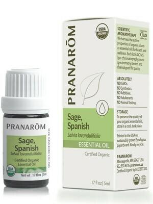 Pranarom EO Sage Spanish 5ml