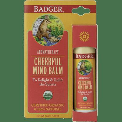 Badger Balm Aromatherapy Cheerful Mind