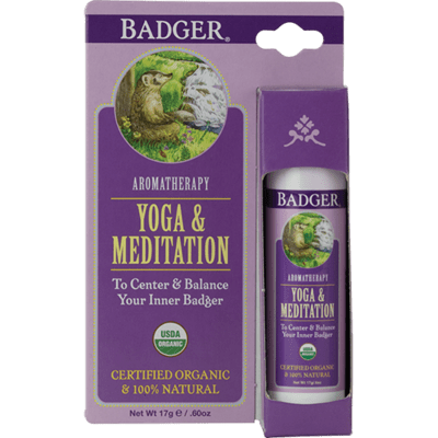 Badger Balm Aromatherapy Yoga & Meditation
