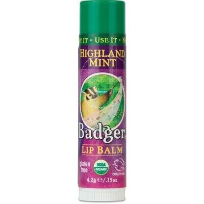 Badger Lip Balm Highland Mint