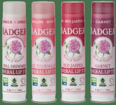 Badger Mineral Lip Tint Opal Shimmer
