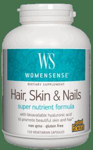 Natural Factors Hair Skin And Nails 120 Count