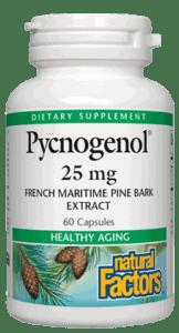 Natural Factors Pycnogenol 25 Mg 60 Cap