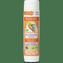 Badger Sport 35spf Sunscreen FACE Stick .65oz