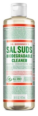 Dr. Bronners Salsuds Biodegradable Cleaner 16oz