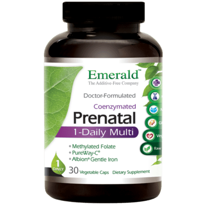 Emerald Labs Prenatal 1 Daily Multi 60 Count