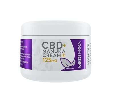 Medterra CBD + Manuka Cream 125 Mg 1 Oz
