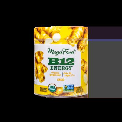 Megafood B12 Energy 70 Gummies