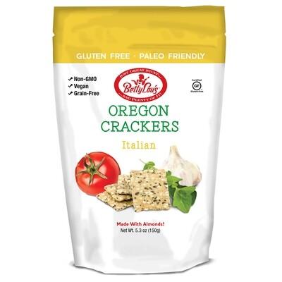 Betty Lou's Oregon Crackers Italian