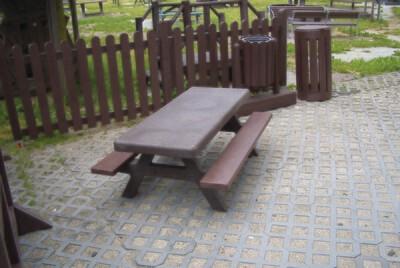 Children's 1.5m Forio picnic table set