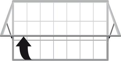 Superior Plus Single Raising Door 2000 21 x A4 Sheets