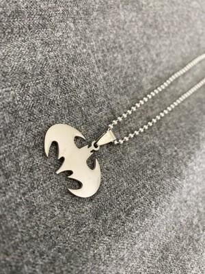 "22"" Batman Chained Necklace"