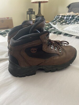 Timberlands, Sz 8.5 Mens, Brown, Hiking Trail Boot