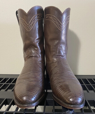 a11-Justin Boots, Size 10.5, #3114