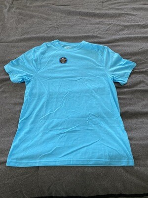 ATHLETIC WORKS PERFORMANCE BLEND TEE MEDIUM 38-40